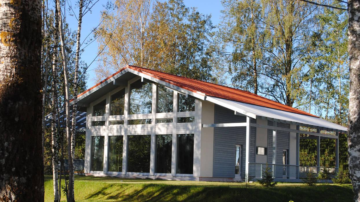 منزل عائلي صغير تنفيذ NORD PLAN, إسكندينافي حجر