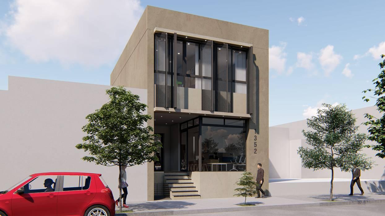 Oficinas y Local Comercial: Edificios de Oficinas de estilo  por ARBOL Arquitectos