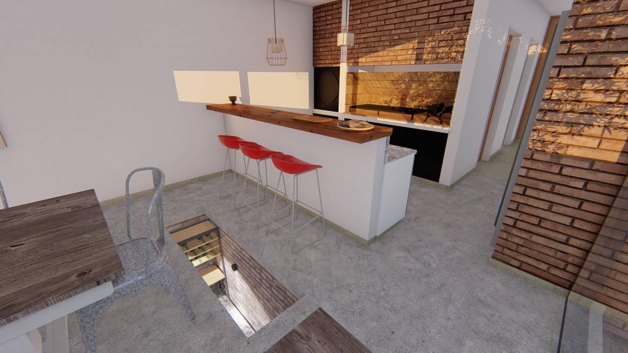 CASA HD Bodegas minimalistas de ARBOL Arquitectos Minimalista
