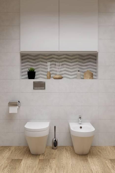 Baños de estilo clásico de Portal Domni.pl Clásico Cerámico