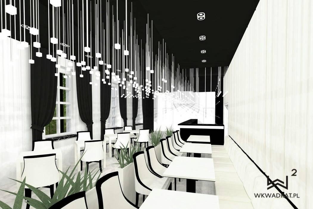 Wkwadrat Architekt Wnętrz Toruń:  tarz Bar & kulüpler