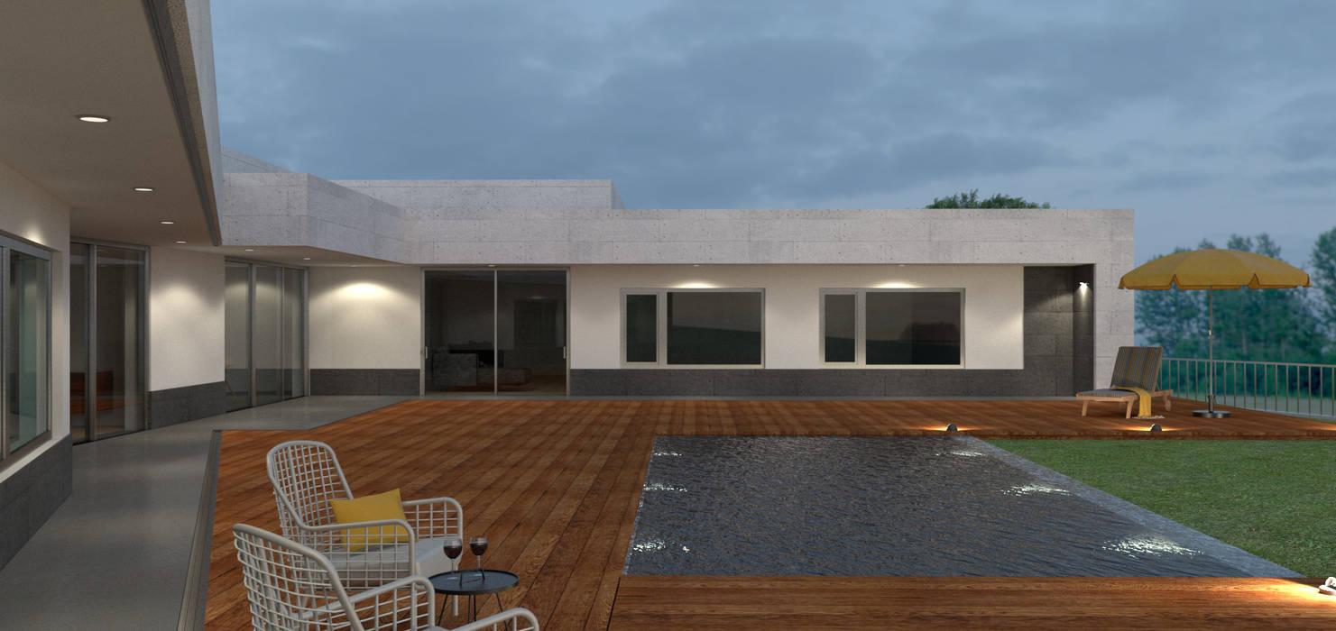 Moderne Pools von Limit Studio Modern