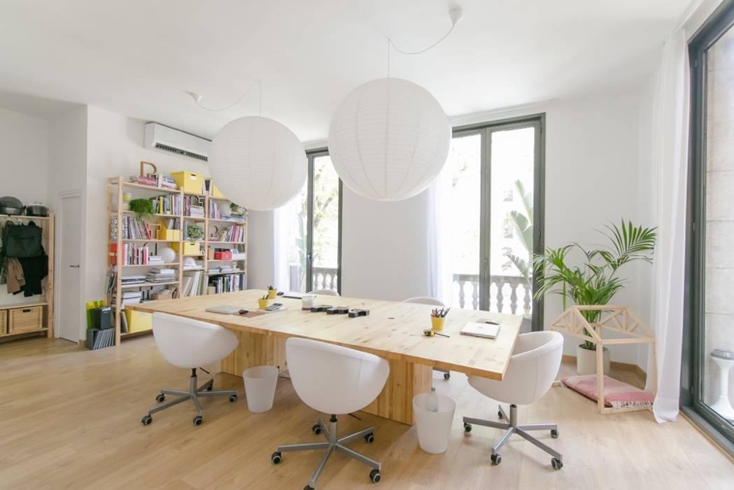 Despacho PPT Piedra Papel Tijera Interiorismo Estudios y despachos de estilo escandinavo