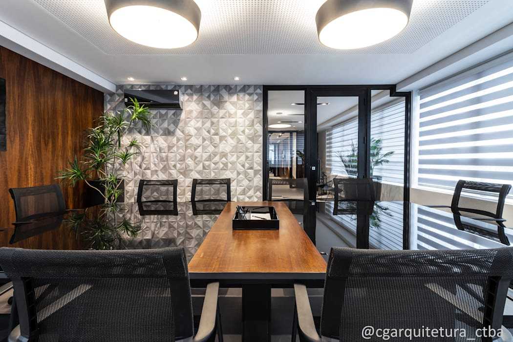 by CG arquitetura e interiores Modern Wood Wood effect