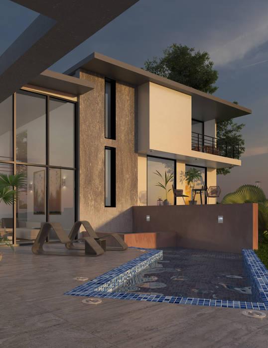 โดย Arquitectura y Visualización