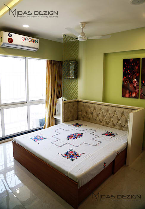 Guest Bedroom Minimalist bedroom by Midas Dezign Minimalist
