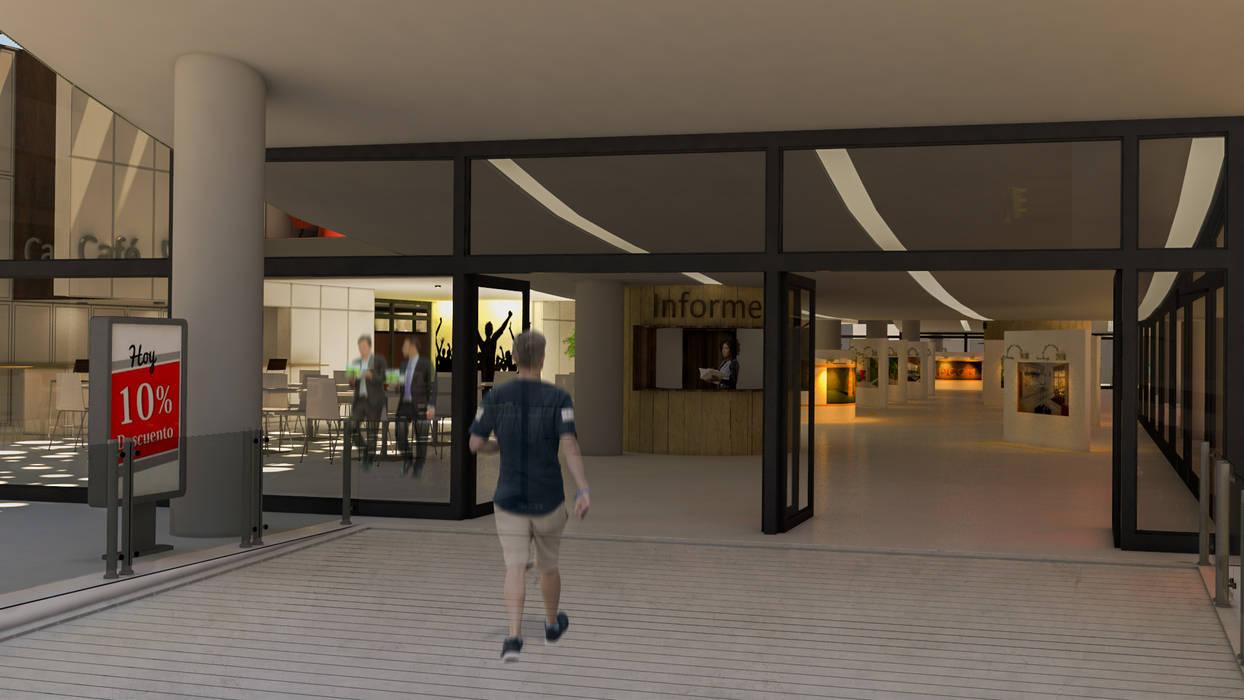 Acceso debajo de la panza: Estudios y oficinas de estilo  por DUSINSKY S.A.