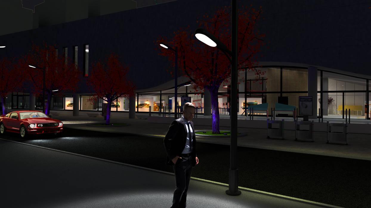 Peatonal 4. Dennis va a otro proyecto Estudios y oficinas modernos de DUSINSKY S.A. Moderno