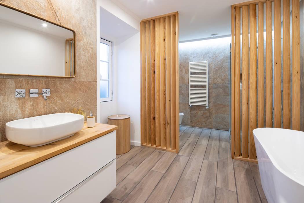 ห้องน้ำ โดย Atelier d'Maison, โมเดิร์น