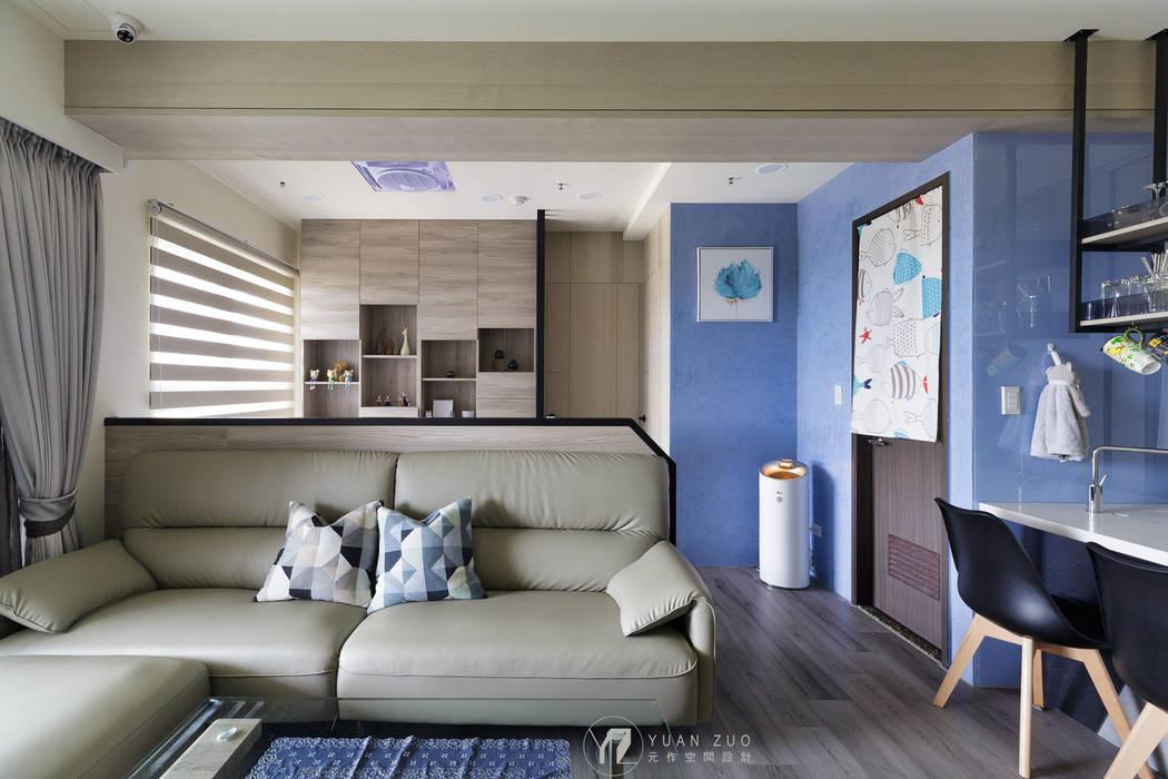 客廳 根據 元作空間設計 現代風