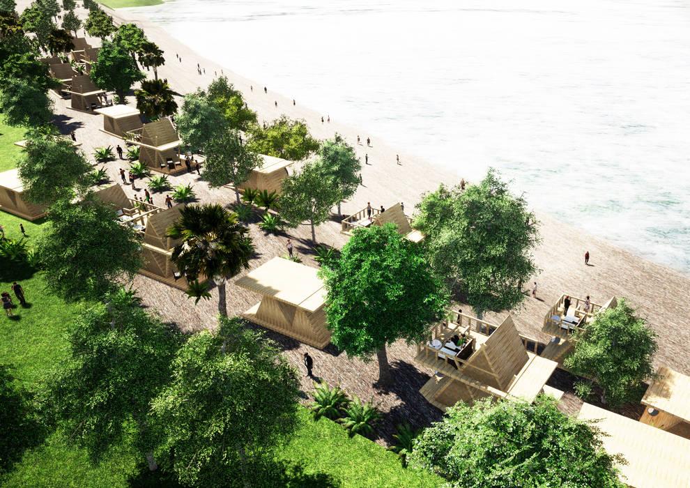 Southeast Asia - Resort Yunhee Choe 露臺 木頭 Wood effect