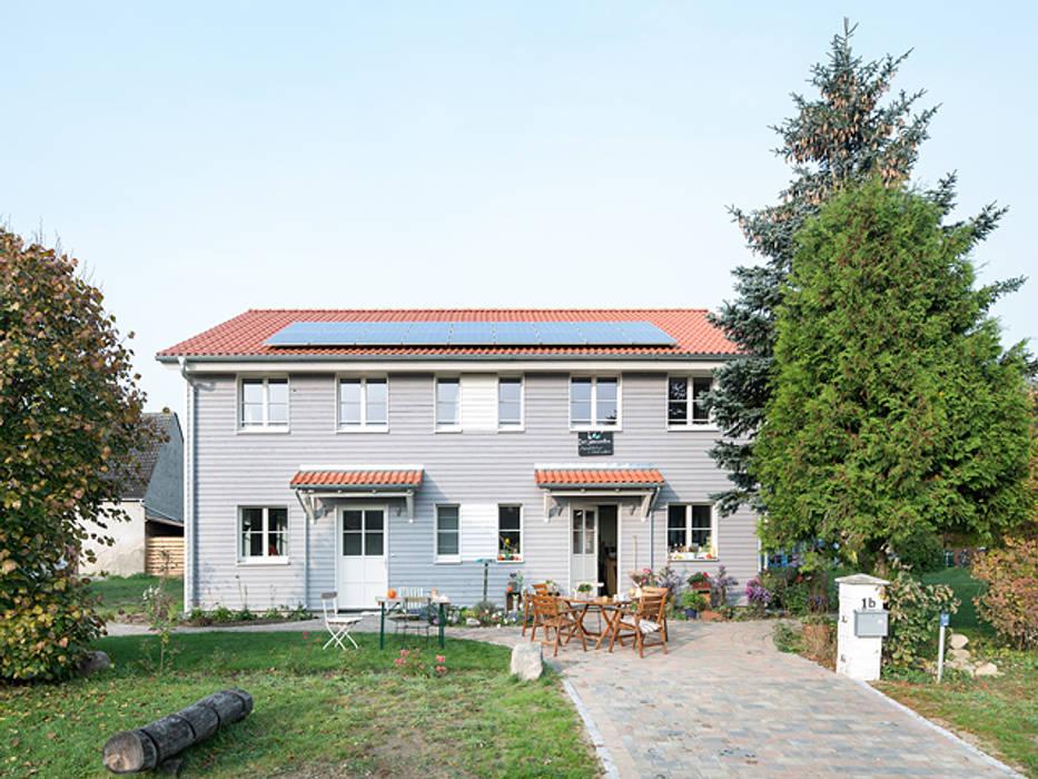 Mal raus aus der Stadt - Ferien auf dem Biohof Müllers Büro Holzhaus
