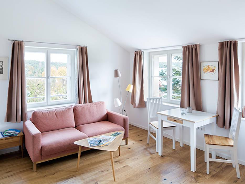 Mal raus aus der Stadt - Ferien auf dem Biohof Müllers Büro Kleines Schlafzimmer