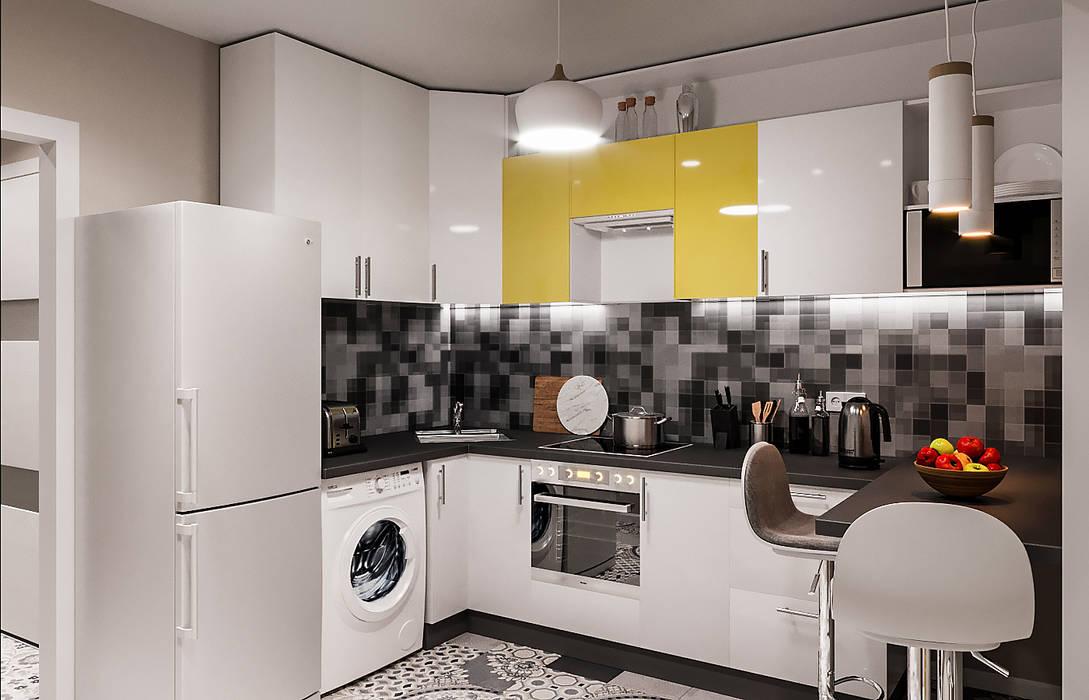 Petites cuisines de style  par DesArch Studio
