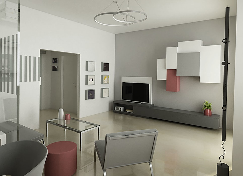 Laboratorio Creativo Up Modern living room