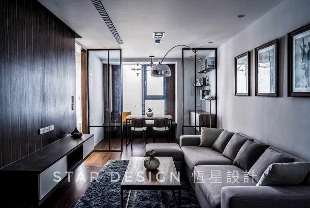 客廳:  客廳 by 恆星商業有限公司, 工業風 金屬