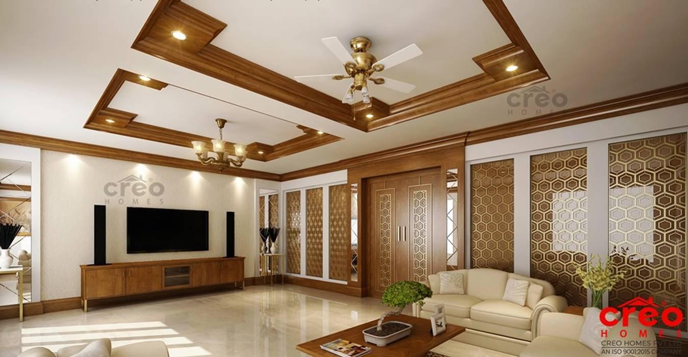 Salas de estilo asiático de Creo Homes Pvt Ltd Asiático