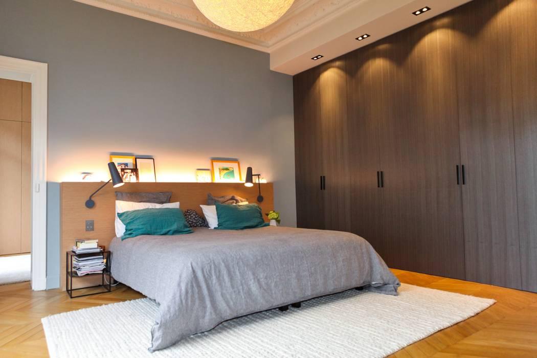 Chambre principale: Chambre de style  par Créateurs d'Interieur