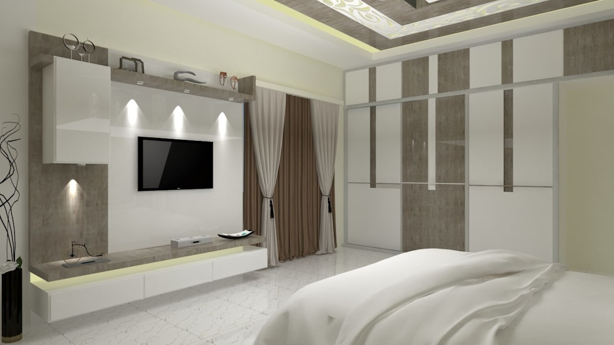 Master bedroom asian style bedroom by jamali interiors asian ...
