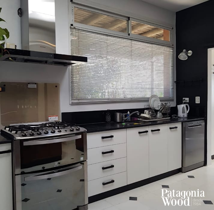 Built-in kitchens by Patagonia wood,