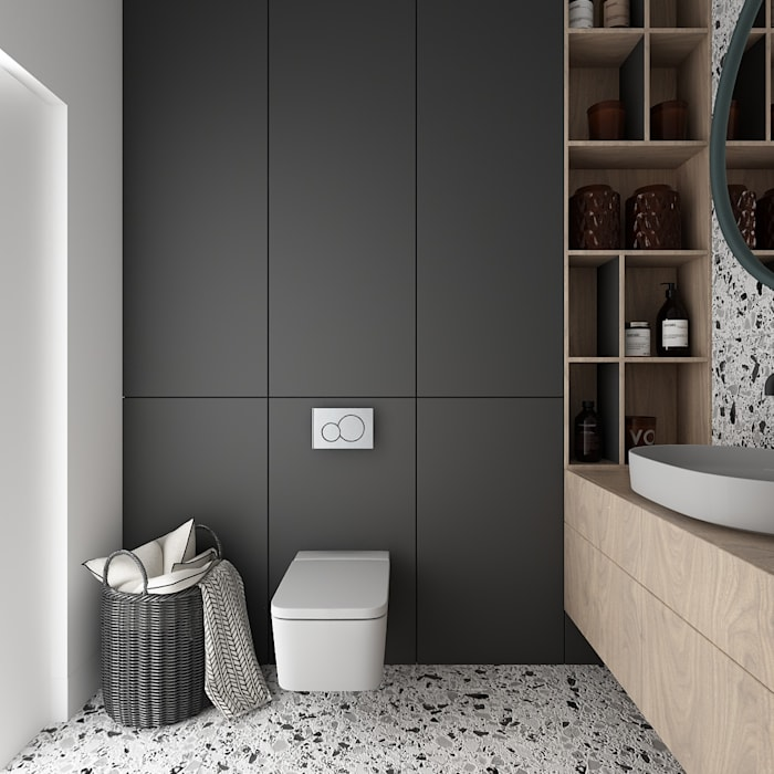 Salle de bain minimaliste par TILLA Minimaliste