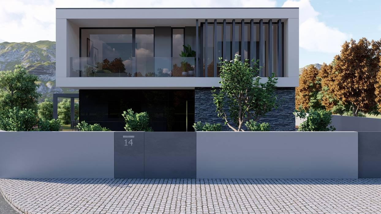Casa da Lomba - Amarante : Casas unifamilares  por Miguel Zarcos Palma,