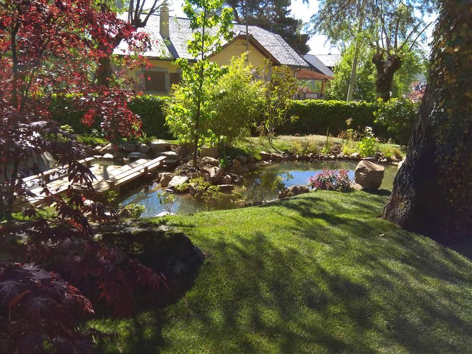 Jardin japones en cercedilla - Madrid de Jardines Japoneses -- Estudio de Paisajismo Asiático