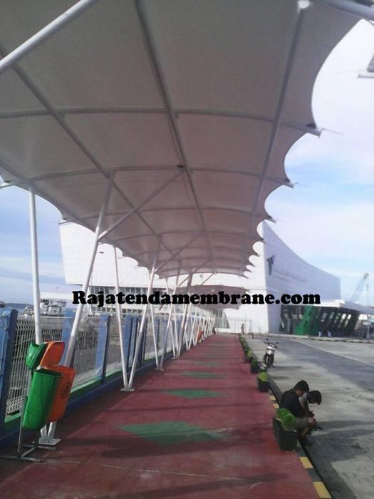 TEnda Membrane Bangunan Kantor Gaya Asia Oleh Raja Tenda Membrane Asia Besi/Baja