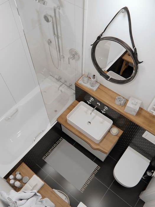 Bathroom by J.Lykasova , Scandinavian