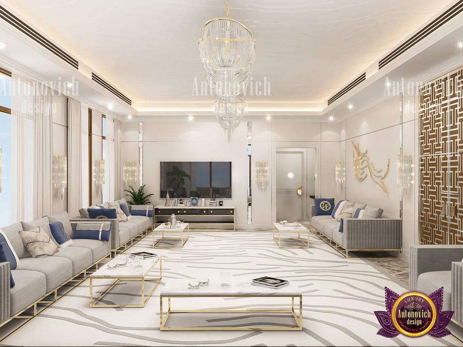 Modern Majlis Design By Luxury Antonovich Design Homify