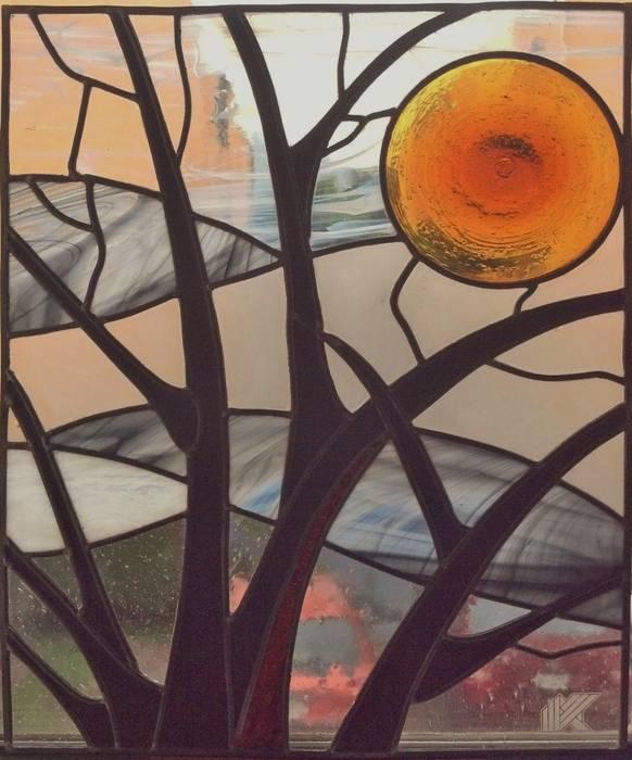 Ramas de arbol: Estudios y oficinas de estilo  por MKVidrio,
