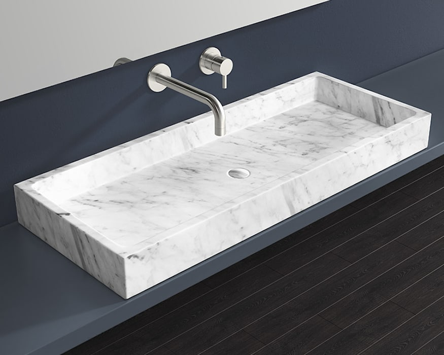 Badeloft - Badewannen und Waschbecken aus Mineralguss und Marmor BathroomSinks Marble