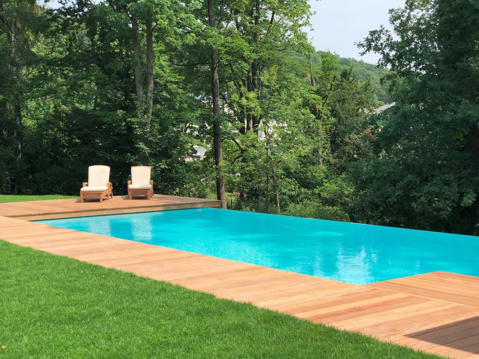 Piscinas infinitas de estilo  de Kirchner Garten & Teich GmbH,