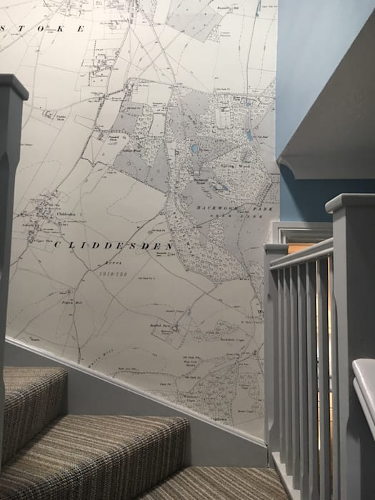 Historic Ordnance Survey Map Wallpaper Redcliffe Imaging Ltd Tangga
