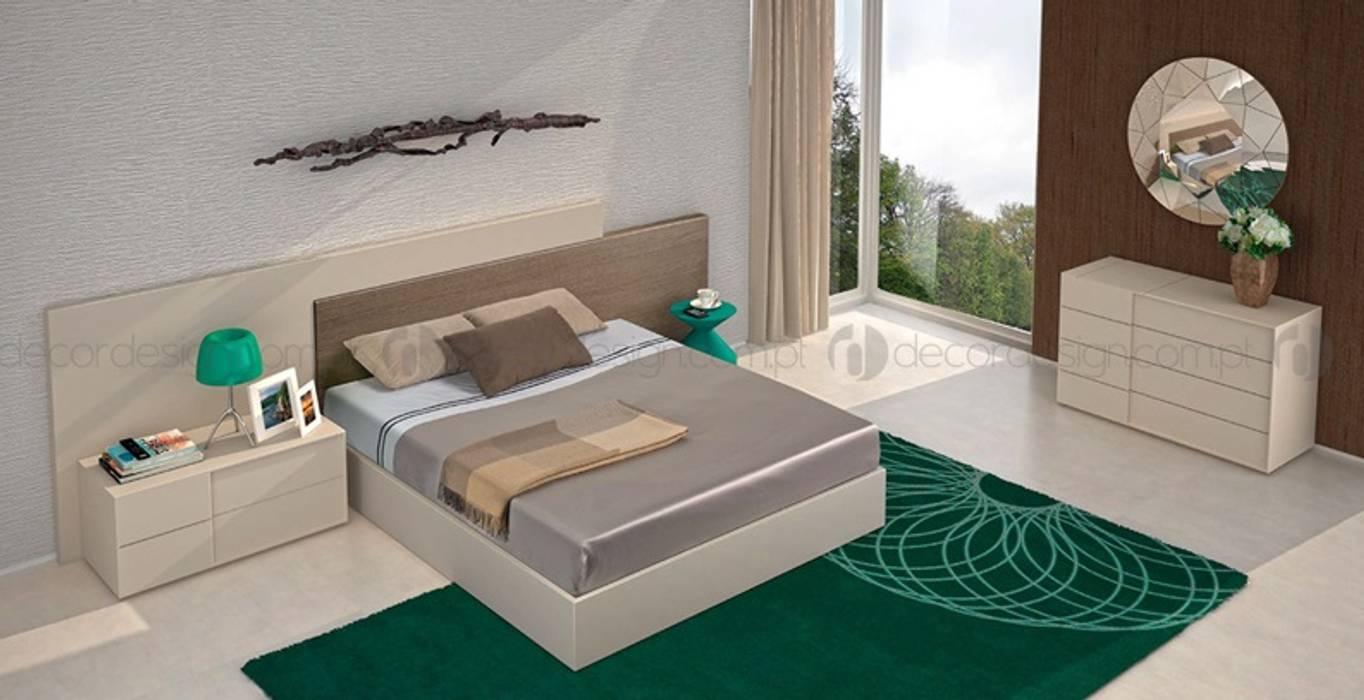 Decordesign Interiores BedroomDressing tables Chipboard White