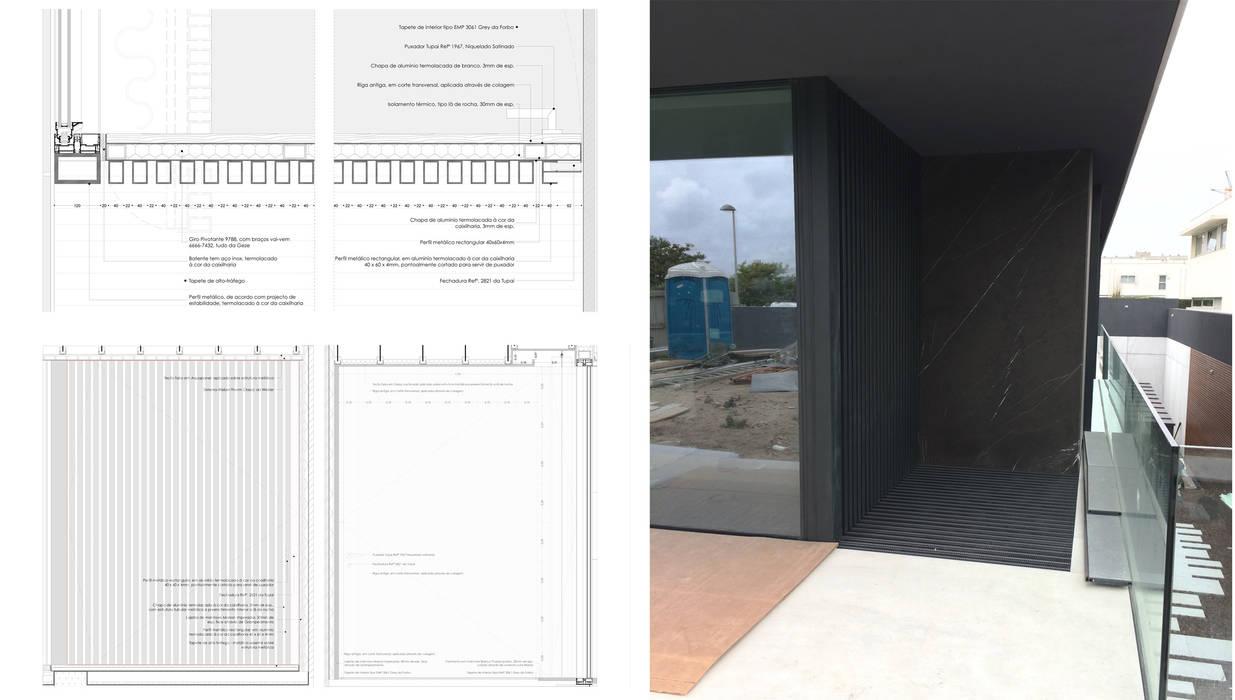 Pormenor / Porta exterior: Portas principais  por MCSARQ