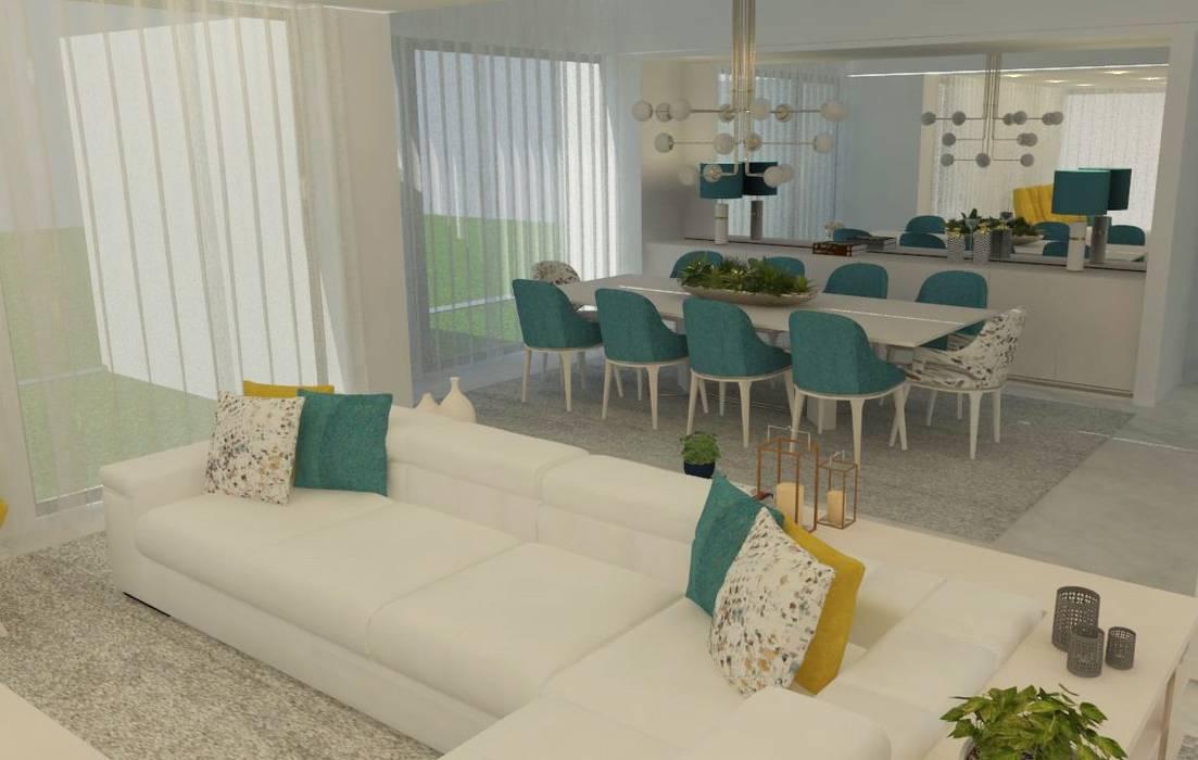 Open space: Uma tendência...: Salas de estar  por Casactiva Interiores