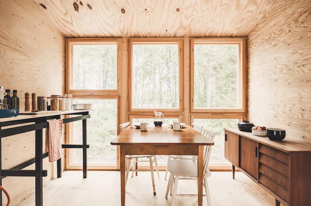 Petites cuisines de style  par politaire, Scandinave Bois d'ingénierie Transparent