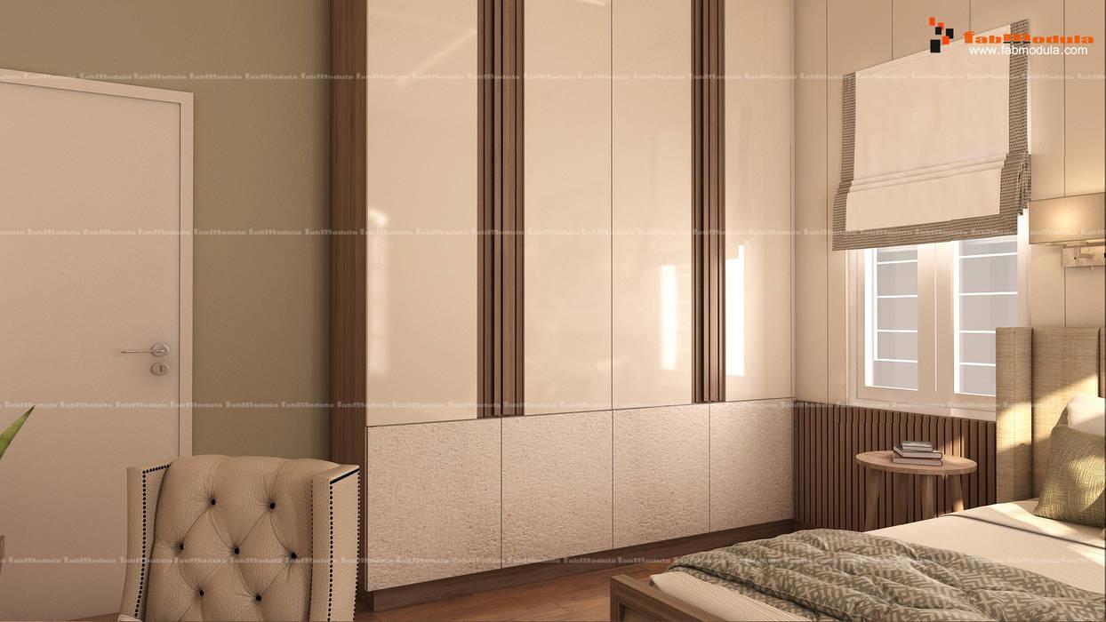 Wardrobe Design Modern style bedroom by Fabmodula Modern