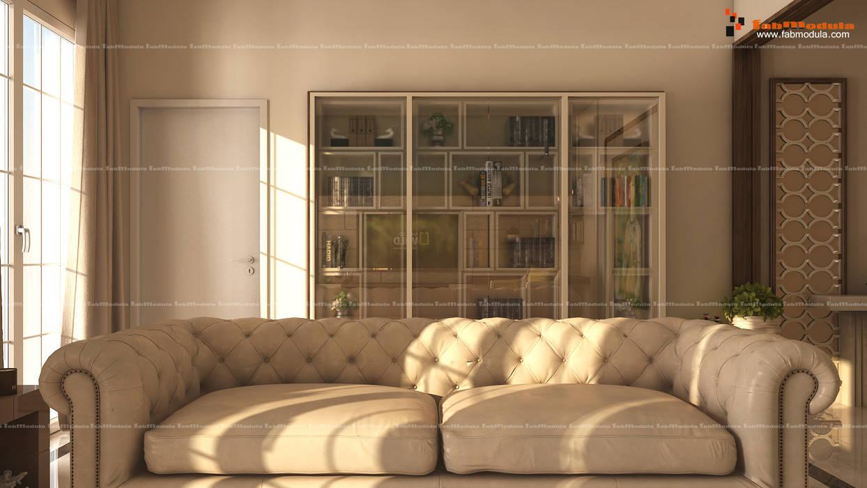 1st Floor Living / Family Room Fabmodula Modern living room