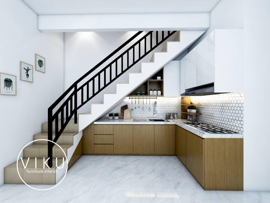 Kitchen set Dapur Minimalis Oleh viku Minimalis Kayu Wood effect