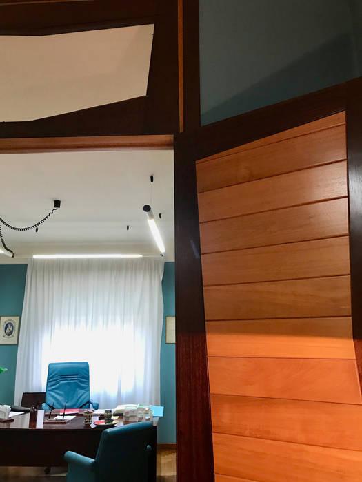 modern  by MEF Architect, Modern Wood Wood effect