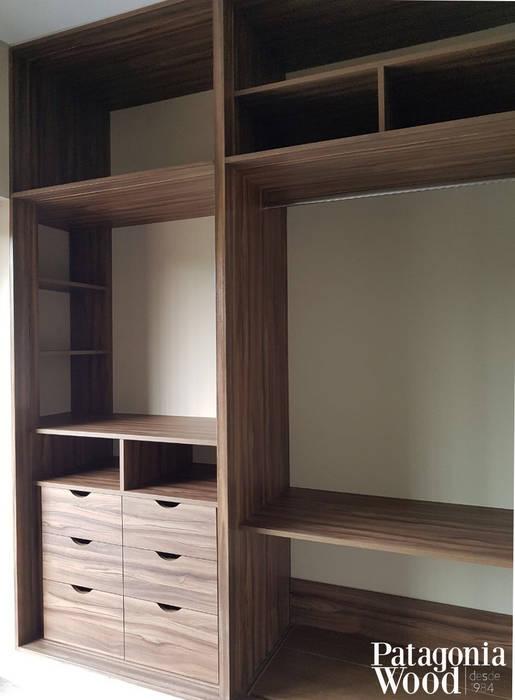 de estilo  por Patagonia wood, Moderno Derivados de madera Transparente