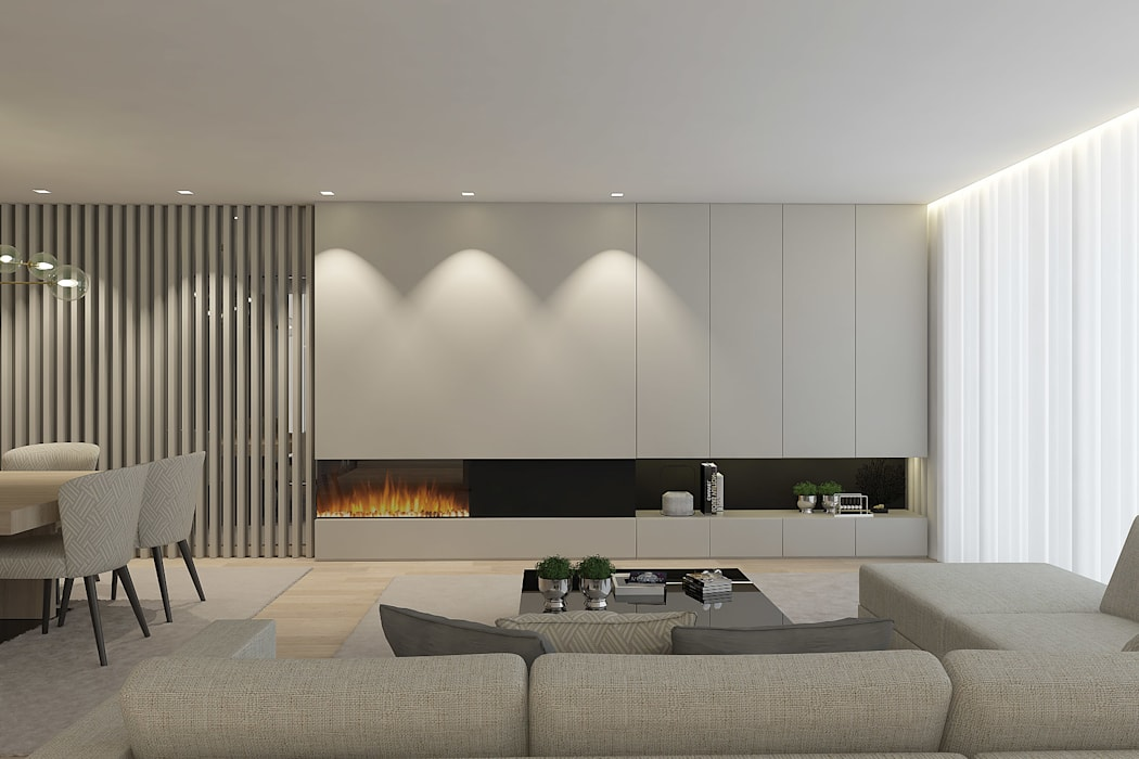 O recuperador: Salas de estar  por 411 - Design e Arquitectura de Interiores,Moderno