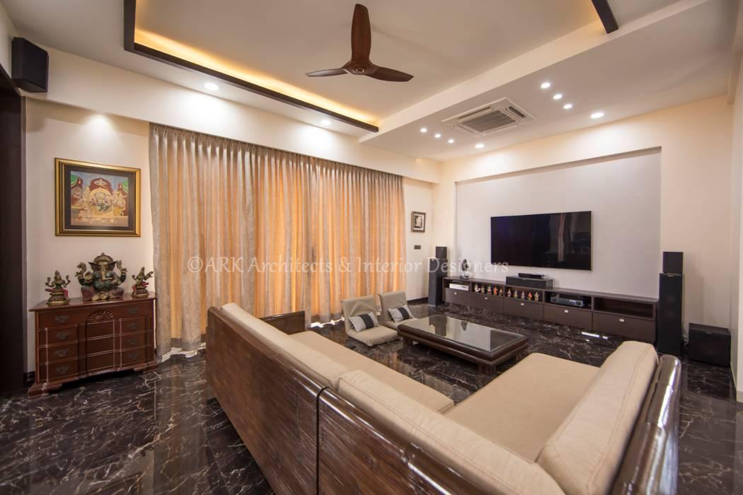 Ruang Media Modern Oleh ARK Architects & Interior Designers Modern
