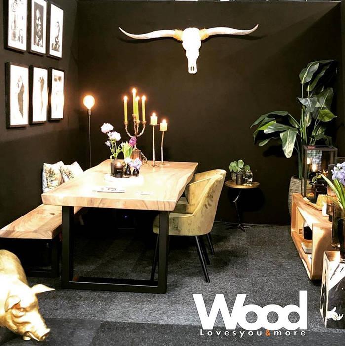 industrial por Woodlovesyou&more , Industrial Madeira Efeito de madeira