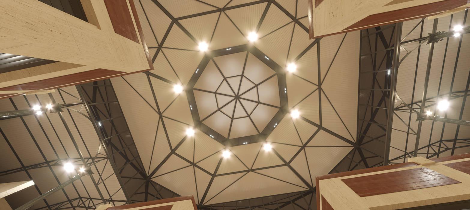斜脊屋頂 by INARQ Espacio,