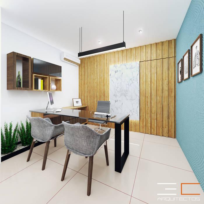 Consultorio CC ¨[Irapuato, Gto.]: Clínicas / Consultorios Médicos de estilo  por 3C Arquitectos S.A. de C.V.,