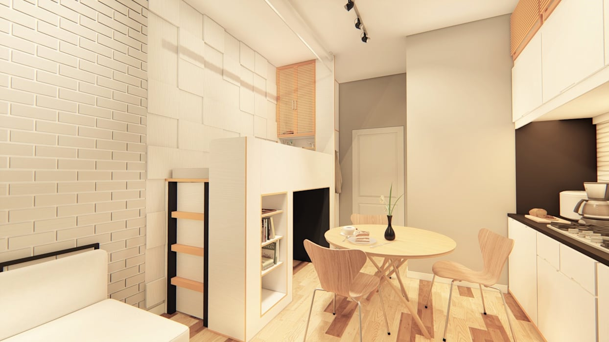 Kitchen by LI A'ALAF ARCHITECT, Minimalist