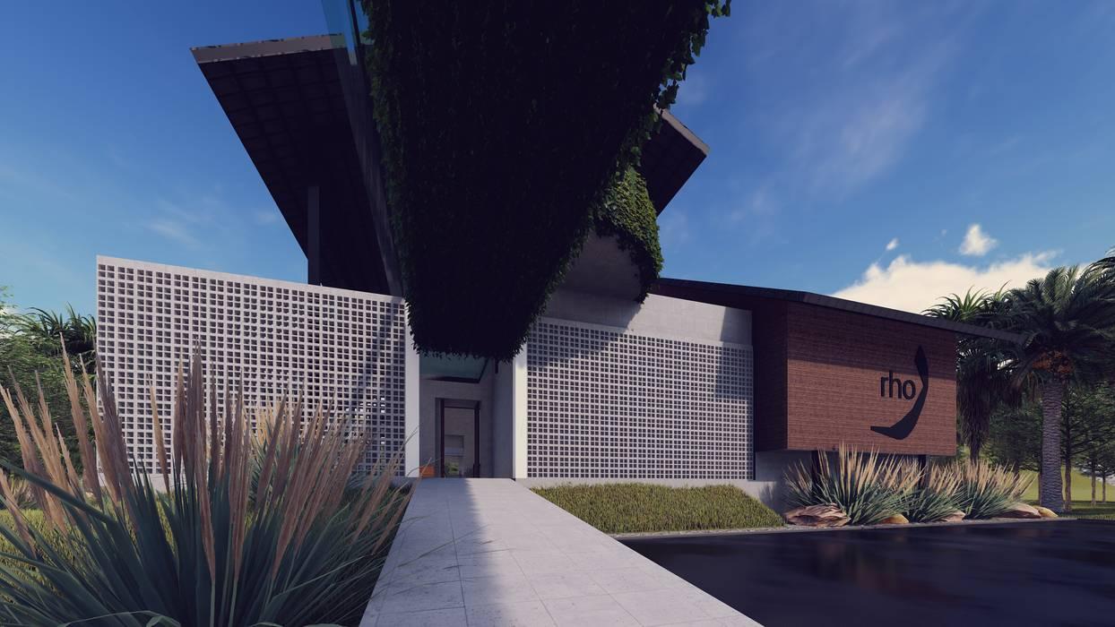 Corredores, halls e escadas modernos por LI A'ALAF ARCHITECT Moderno